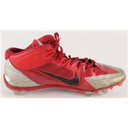 Jerome Baker Signed Ohio State Buckeyes Nike Football Cleat (JSA COA)