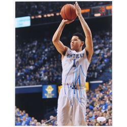 Devin Booker Signed Kentucky Wildcats 11x14 Photo (JSA Hologram)