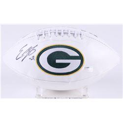 Eddie Lacy Signed Packers Logo Football (Radtke COA)