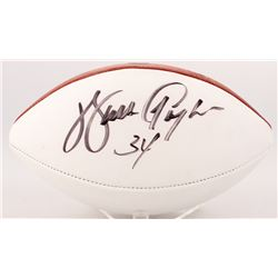 Walter Payton Signed Football (JSA ALOA)
