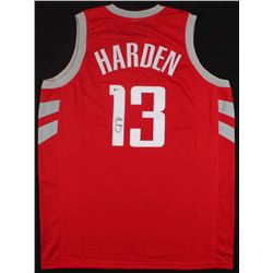 James Harden Signed Rockets Jersey (Beckett COA)