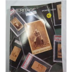 HERITAGE SPORTS CARDS PRICE BOOK, JULY 2018