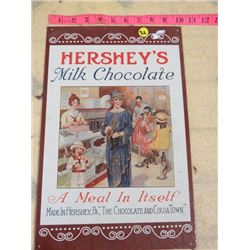 HERSHEY REPRODUCTION SIGN 10X16