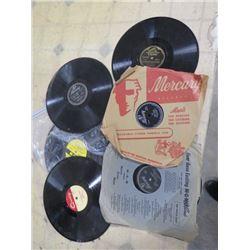 6 LP RECORDS, EDDIE DEAN, DAVID ROSE, PATTI PAGE, ETC