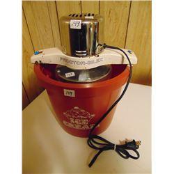 PROCTOR-SILEX ELECTRIC ICE CREAM MAKER