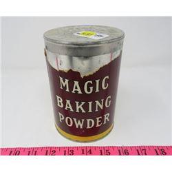 MAGIC BAKING POWDER CAN *LARGE*