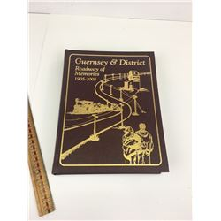 GUERNSEY AND DISTRICT SASKATCHEWAN LOCAL HISTORY BOOK