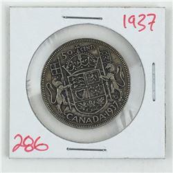 1937 CANADA 50 CENT PIECE