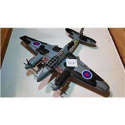 RFM #2 TIN ARMY MODEL PLANE