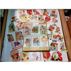 VERY OLD VALENTINE CARDS, SOME FROM 1930s, *BEAUTIFUL*