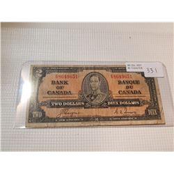 HARD TO FIND 1937 $2 BILL