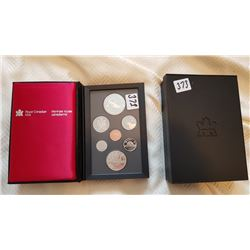 1986  CANADA COIN SET W/SILVER DOLLAR *PROOF LIKE*
