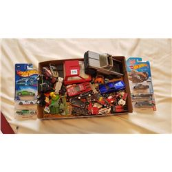 MIXED CAR TOY LOT, OLD STOCK HOTWHEELS