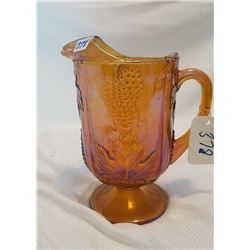 CARNIVAL GLASS JUG