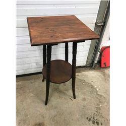"PARLOR TABLE 16X16X30"" HIGH, ?*MAPLE*"