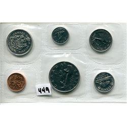 1976 CNDN SPECIMEN SET COINS PENNY TO DOLLAR