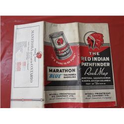 RED INDIAN' ROAD MAP