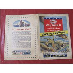 ESSO WAR MAP II INVASION EDITION