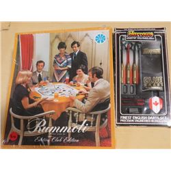 RUMMOLI GAME (UNOPENED) & DART SET