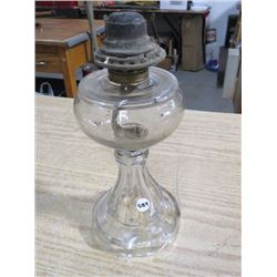 NO 2 COAL OIL LAMP, (NO CHIMNEY)