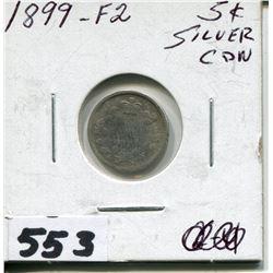 1899 CNDN SMALL SILVER NICKEL