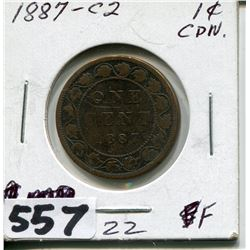 1887 CNDN LARGE PENNY