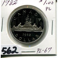 1982 CNDN SILVER DOLLAR