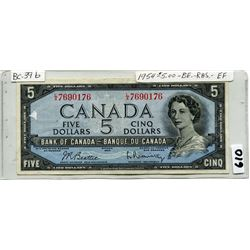 1954 CNDN FIVE DOLLAR NOTE