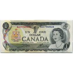 1973 CNDN ONE DOLLAR NOTE