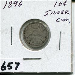 1896 CNDN SILVER DIME
