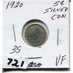 1920 CNDN SMALL SILVER NICKEL
