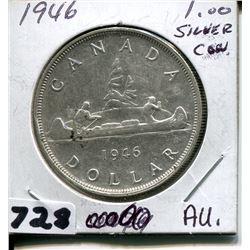 1946 CNDN SILVER DOLLAR