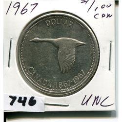 1967 CNDN DOLLAR