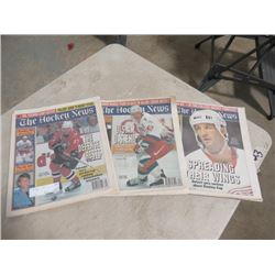 BOX OF THE HOCKEY NEWS 1995 - 1996