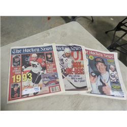 BOX OF THE HOCKEY NEWS 1993-1995