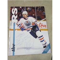 1993 EDMONTON OILER PROGRAM