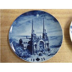 2 PICTURE PLATES, (MADE IN GERMANY)