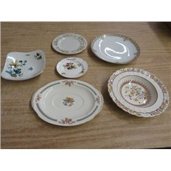 LOT OF DISHES, (NIPPON, COPELAND, ETC.)