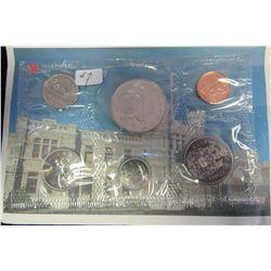 1987 CDN PROOF MINT SEALED COIN SET
