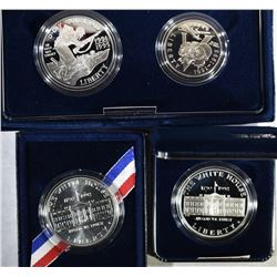 1- 1993 WWII 2-COIN PROOF SET &