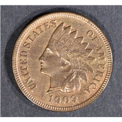 1909-S INDIAN CENT BU RB KEY DATE