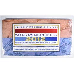 2012 SEALED U.S. MINT MAKING AMERICAN HISTORY SET