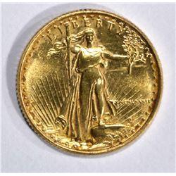 1986 1/10 oz AMERICAN GOLD EAGLE