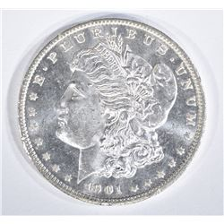 1901-O MORGAN DOLLAR  GEM BU PL