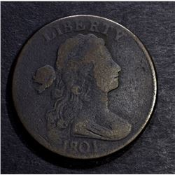 1801 LARGE CENT, VG
