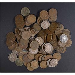 147-MIXED DATE CIRC INDIAN HEAD CENTS