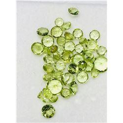 Genuine Peridot (4ct) Gemstones