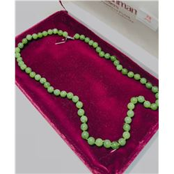 Sterling Silver Canadian Jade Necklace