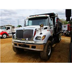 2005 INTERNATIONAL 7600 DUMP, VIN/SN:1NTWXSBT55J004803 - TRI-AXLE, CAT C13, ALLISON A/T, ENGINE BRAK