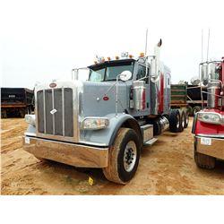 2013 PETERBILT 388 TRUCK TRACTOR, VIN/SN:1XPWP4EX1DD191394 - TRI-AXLE, 550HP CUMMINS ENGINE, 18 SPEE